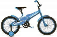Велосипед детский Stark Tanuki 16 Boy 2020, голубой/белый (H000015185)