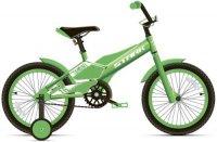 Велосипед детский Stark Tanuki 16 Boy 2020, зеленый/белый (H000015184)