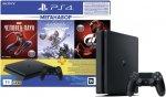 Игровая приставка PlayStation 4 1TB Gran Turismo Sport + Horizon Zero Dawn. Complete Edition + Человек-паук + PS Plus на 3 месяца (CUH-2208B)