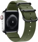 Ремешок TFN Canvas Band для Apple Watch 38/40мм, милитари (TFN-WA-AWCB40C03)