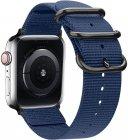 Ремешок TFN Canvas Band для Apple Watch 42/44мм, темно-синий (TFN-WA-AWCB44C02)