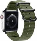 Ремешок TFN Canvas Band для Apple Watch 42/44мм, милитари (TFN-WA-AWCB44C03)