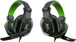 Игровые наушники Smartbuy Rush Crush'em Black/Green (SBHG-9640)