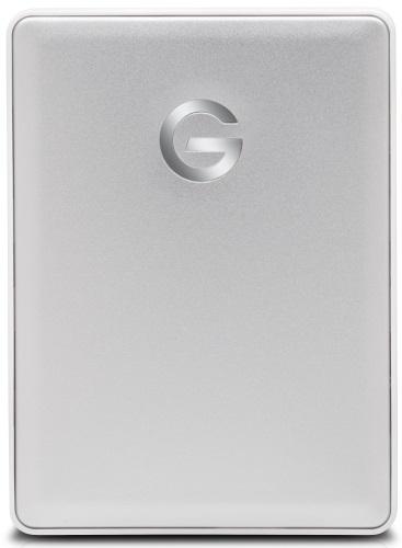 Внешний жесткий диск G-Technology G-Drive Mobile 1TB Silver для Mac (0G10264-1 )