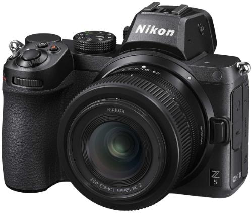 Системный фотоаппарат Nikon Z 5 Kit Nikkor Z 24-50mm f/4-6.3 (VOA040K001)