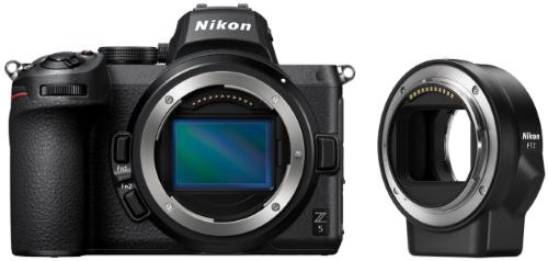 Системный фотоаппарат Nikon Z 5 Body + FTZ Adapter (VOA040K002)