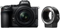 Системный фотоаппарат Nikon Z 5 Kit Nikkor Z 24-50mm f/4-6.3+FTZ (VOA040K003)