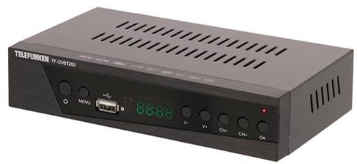 Цифровой эфирный приемник Telefunken TF-DVBT260
