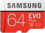 Карта памяти Samsung MicroSD Evo Plus 64GB (MB-MC64HARU)