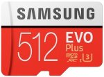 Карта памяти Samsung MicroSD Evo Plus 512GB (MB-MC512HARU)
