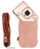 Мульти-функциональный фотоаппарат Fujifilm Instax Mini Liplay Blush Gold Bundle