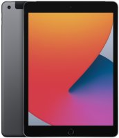 Планшет Apple iPad 10.2 Wi-Fi+Cellular 32GB Space Grey (MYMH2RU/A)