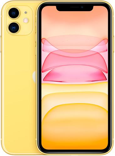 Смартфон Apple iPhone 11 64GB Yellow (MHDE3RU/A)