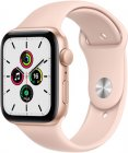 Смарт-часы Apple Watch SE 44mm Gold Aluminum Case with Pink Sand Sport Band (MYDR2RU/A)