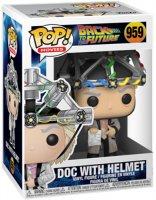Фигурка Funko POP! Vinyl: BTTF: Doc w/helmet (46914)