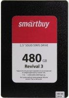 Твердотельный накопитель Smartbuy Revival3 480GB (SB480GB-RVVL3-25SAT3)