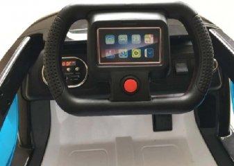 Электромобиль R-Wings Apple iCar 12V, White (RWE208)
