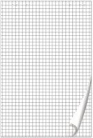 Блокнот для флипчартов Brauberg 50 листов, клетка, 67,5х98 см, 80г/кв.м (128647)
