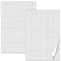 Блокнот для флипчартов Brauberg 5 штук, 20 листов, клетка, 67,5х98 см, 80г/кв.м (124097)