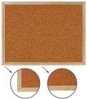 Доска пробковая для объявлений Brauberg 45х60 см, деревянная рамка (236859)