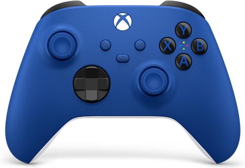 Геймпад Microsoft Xbox One Blue (QAU-00002)