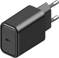 Сетевое зарядное устройство InterStep USB - TypeC Power Delivery 18W Black (IS-TC-PDMB1U18W-000B201)