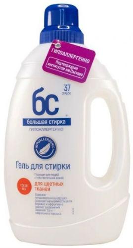 Гель для стирки БОЛЬШАЯ-СТИРКА Color, 1500 г
