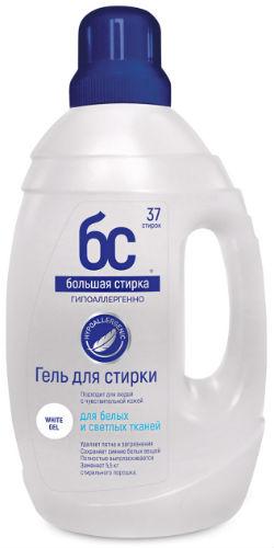 Гель для стирки БОЛЬШАЯ-СТИРКА White, 1500 г