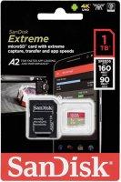 Карта памяти SanDisk microSD Extreme 1ТБ UHS-I + адаптер (SDSQXA1-1T00-GN6MA)