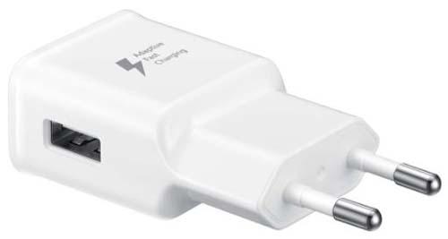 Сетевое зарядное устройство Samsung EP-TA20, без кабеля White (EP-TA20EWENGRU)
