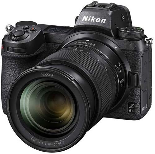 Системный фотоаппарат Nikon Z 6II Black Kit 24-70mm f/4 S