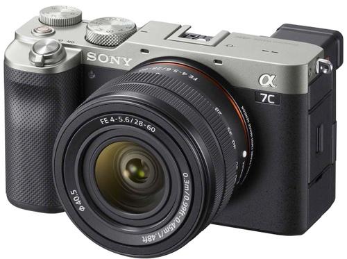 Зеркальный фотоаппарат Sony Alpha 7C Silver Kit FE 28-60mm F/4-5.6