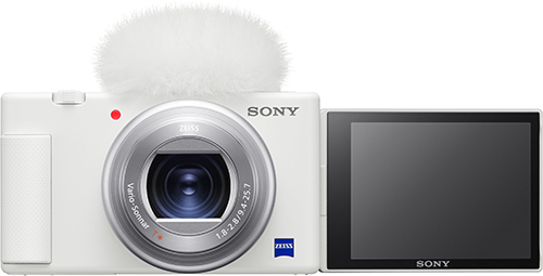 Экшн-камера Sony ZV-1 White