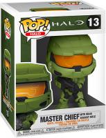 Фигурка Funko POP! Halo Infinite: Master Chief (51102) toyspark halo master chief 5 action figure mcfarlane halo series collectible loose no retail box
