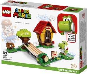 Дом Коттежд Конструктор Lego Super Mario: Дом Марио И Йоши (71367) Приволжск