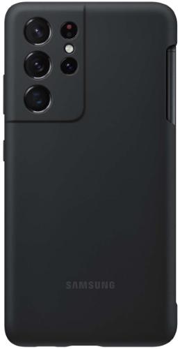 Электроника Чехол Samsung Silicone Cover + S Pen Для  S21 Ultra Black (Ef-Pg99Ptbegru) Москва