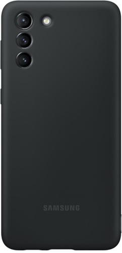 Телефоны Чехол Samsung Silicone Cover Для S21+ Black (Ef-Pg996Tbegru) Высокое