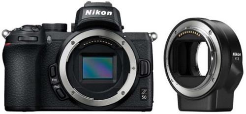 Системный фотоаппарат Nikon Z 50 + FTZ Adapter