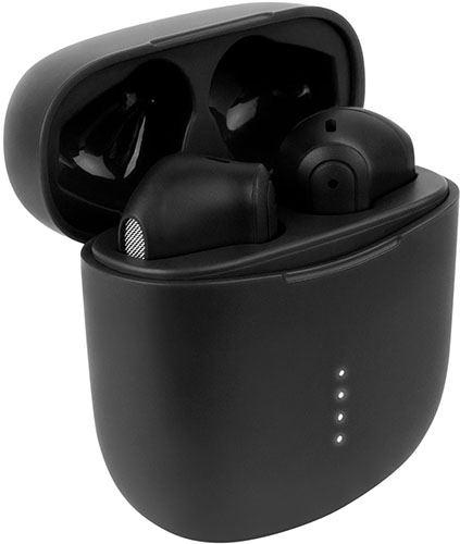 Беспроводные наушники с микрофоном Rombica Mysound Factor True Wireless Black (BH-T004)