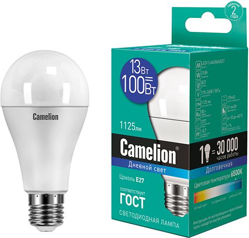Светодиодная лампа Camelion LED13-A60/865/E27