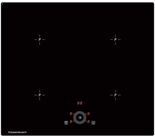Индукционная варочная панель KUPPERSBUSCH KI 6330.0 SR