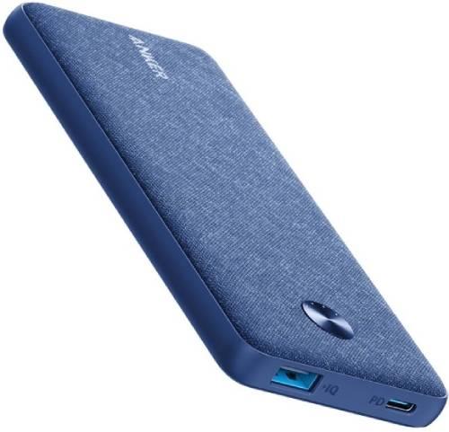 Внешний аккумулятор Anker PowerCore Sense 10000 PD Fabric Blue (A1231H31)