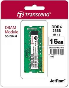 Купить оперативную память Transcend 16GB DDR4 SO-DIMM (JM2666HSE-16G) по выгодной цене в интернет-магазине ЭЛЬДОРАДО с доставкой в Москве и регионах России