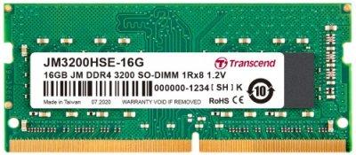 Купить оперативную память Transcend 16GB DDR4 SO-DIMM (JM3200HSE-16G) по выгодной цене в интернет-магазине ЭЛЬДОРАДО с доставкой в Москве и регионах России