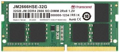 Купить оперативную память Transcend 32GB DDR4 SO-DIMM (JM2666HSE-32G) по выгодной цене в интернет-магазине ЭЛЬДОРАДО с доставкой в Москве и регионах России