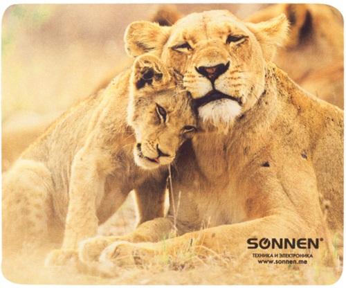 Коврик для мыши Sonnen Lions (513310)
