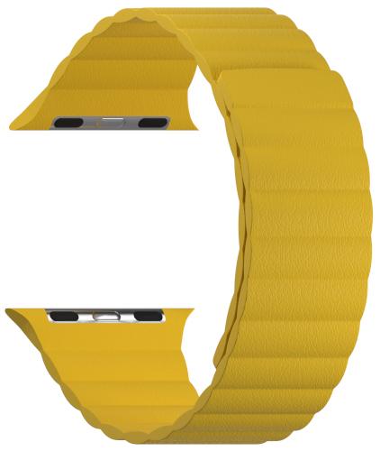 Ремешок LYAMBDA Pollux для Apple Watch 38/40mm Yellow (DSP-24-40-YL)