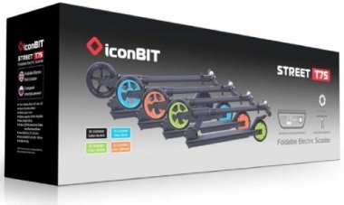 Объявления Электросамокат Iconbit Street T75 Blue (Xlr3006) Каменногорск