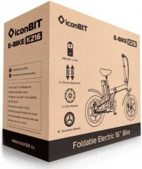 Объявления Электровелосипед Iconbit E-Bike K216 White (Xlr3033) Рыльск
