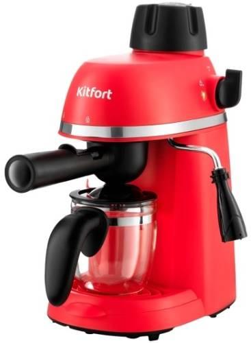 Кофеварка рожковая Kitfort КТ-760-1 Red